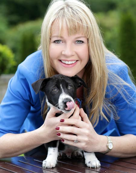 Broadcaster Claire Byrne has backed SpayAware's 2014 campaign to end the needless destruction of unwanted dogs and cats.