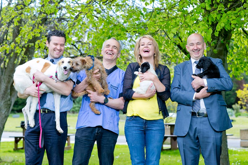 SpayAware Photocall 2015 Claire Byrne Pete Wedderburn